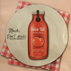 LAB for you Juice up Tomato mask/Superfood mask 🍅
